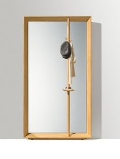 Austrian interior design stronghold Team 7 delivers three entry hall systems that fit into any style of home seamlessly. Team 7, Clothes Stand, Modern Entryway, Hallway Designs, Panel Systems, Entry Hall, Wood Paneling, Colored Glass, Sconces