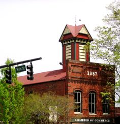 The Welcome Center Downtown Madison - The old firehouse built in 1887.  Here you can pick up brochures on everything going on within the county!  Open Daily