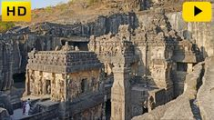 The rock-cut Hindu temple the Kailasa of Ellora, central India. The 32 metre high temple was dedicated to Shiva and was built in the centuries CE. / Source: The Ellora Caves of Ancient India History Of Earth, Ancient History, Durga, Temple Indien, Art Indien, History Encyclopedia, Jain Temple, Amazing India, Hindus