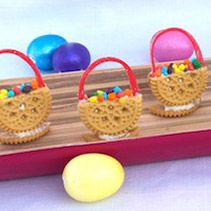 Fun and Easy Kids Easter Basket Cookie Idea