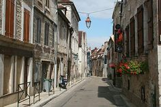 Chablis, France. We walked through here and bought lots of lovely wine