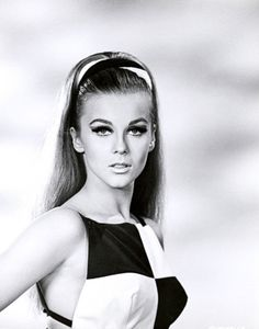 A young Ann Margret (circa 1960s) in high upswept ponytail...gorgeous!