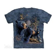 Find 13 Black Bears Felnőtt Amerikai The Mountain Póló