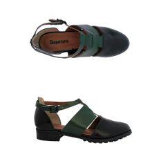 Sapato Farge preto/turmalina Comparsaria