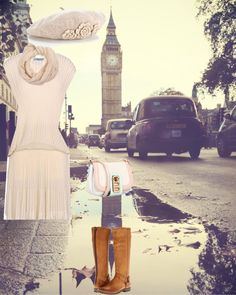 """""""Spring in London"""" by slavica333 ❤ liked on Polyvore"""