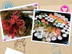 #Sushi and Soba - #JapaneseFood #HealthyFood