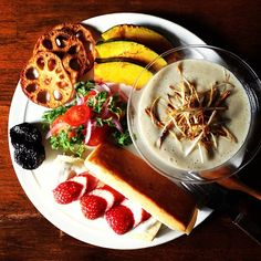 Today's breakfast. Burdock Soup ごぼうのポタージュ - @keiyamazaki- #webstagram
