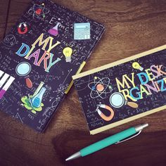 Bring out the scientist in your kids. #Scientist theme #birthday party return gifts. #cupikdesign #diary #deskorganisers