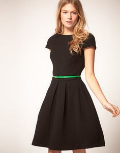 AsosOasis Fit and Flare Dress