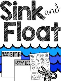 Enjoy this little freebie to go along with your sink and float unit. Its great as a formative assessment before doing ex Kindergarten Anchor Charts, Kindergarten Science, Elementary Science, Science Experiments Kids, Science Classroom, Science Lessons, Science Education, Science For Kids, Science Activities