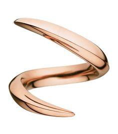 Shaun Leane Rose Gold Aerial Crossover Ring Shaun Leane £1,950.00