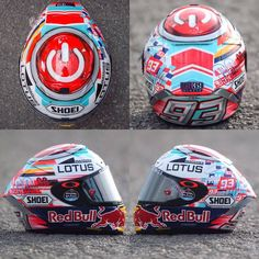 Helmet from Marc Marquez for his home race at the CatalanGP