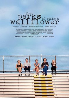 The Perks of Being A Wallflower Stephen Chbosky James Bond Movie Posters, Iconic Movie Posters, Minimal Movie Posters, Movie Poster Art, Iconic Movies, Film Posters, Poster Wall, Poster Prints, 90s Movies