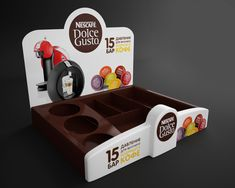 Point of Purchase Design | POP | POSM | POS | Display Nescafe Dolce Gusto by Dmitry Gelishvili
