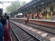 Woman survives train accident | firefighting