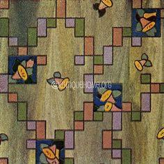 https://flic.kr/p/5dDn1V   Linoleum Pattern 1930   1930s Interior Design Resources