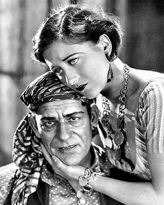 Lon Chaney & Joan Crawford - The Unknown Old Hollywood, Hollywood Actresses, Classic Hollywood, Carnival Girl, Film Story, Lon Chaney, Turner Classic Movies, Joan Crawford, Glamour