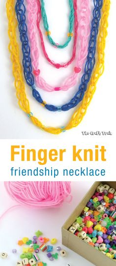 Finger knit friendsh