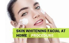 Skin Whitening Facial at home methods using the natural products like milk, honey, papaya, sandalwood that increase the fairness, glow and gives whiter skin Natural Skin Whitening, Best Teeth Whitening, Skin Lightening Cream, Lighten Skin, Good Skin, Skin Care Tips, Facial, Natural Products, Beast