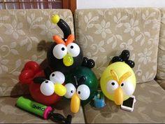 氣球小鳥 balloon twist balloon birds - YouTube