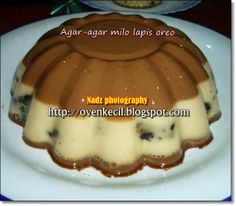 CUTE OVEN, SMALL KITCHEN: AGAR-AGAR MILO LAPIS OREO Tummy Yummy, Indonesian Food, Sponge Cake, Oreo, Jelly, Sweet Treats, Food And Drink, Snacks, Breakfast