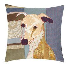 Doggy cushions  by Carola Van Dyke. Chosen by Mary Portas for House of Fraser.