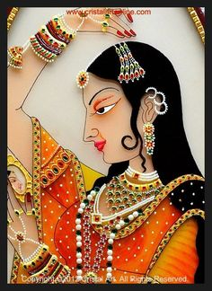 What is Your Painting Style? How do you find your own painting style? What is your painting style? Mughal Paintings, Indian Art Paintings, Madhubani Painting, Abstract Paintings, Oil Paintings, Glass Painting Patterns, Glass Painting Designs, Paint Designs, Rajasthani Painting