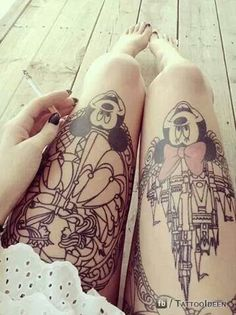 DIE HARD Disney !!! Not that I would get a Tattoo but If I did I...