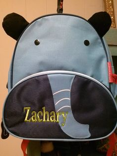 Introducing the elephant backpack! What a neat little tote for the kid in  your life 1148fad1d6c98