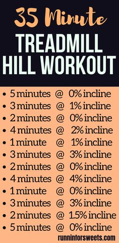This 35 minute treadmill workout uses incline to create various hills and quickly increase your speed and strength. This powerful treadmill hill workout is a great way to incorporate interval training into your running plan! Great for beginners and pros a Treadmill Workouts, Running Workouts, At Home Workouts, Beginner Hiit Treadmill, Cardio Workout For Beginners, Interval Training Treadmill, Gym Routine For Beginners, Beginner Home Workout Plan, Treadmill Walking Workout