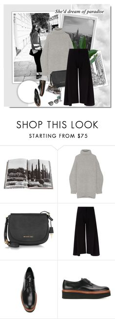 """""""In New York City"""" by aane1aa ❤ liked on Polyvore featuring Cree, Meggie, 7 For All Mankind, Assouline Publishing, Acne Studios, Michael Kors, Victoria, Victoria Beckham, Tod's and Prada"""