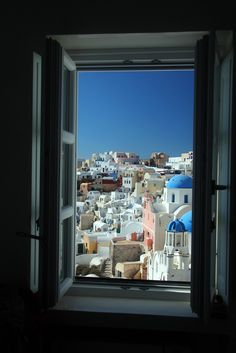 Window on Oia