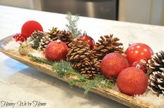 Christmas Dough Bowl