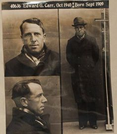 EDWARD GEORGE CARR at the Geelong Gaol. #geelonggaolghosttours