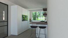 3D keukenontwerp laten maken - Keukenstudio Van Den Bijtel Latte, Furniture, Home Decor, Decoration Home, Room Decor, Home Furnishings, Home Interior Design, Home Decoration, Interior Design