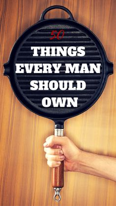 50 Things Every Man Should Own. Includes products, style, and fashion items for men, as well as other lifestyle items for guys.