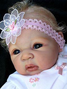 "Reborn Baby  Doll ""NEW RELEASE""  Carmen by Adrie Stoete now ""Anna-Bella"""