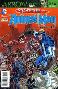Cover Thumbnail for Animal Man (DC, 2011 series) #17