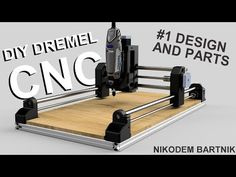 Final tests of Arduino based DIY Dremel CNC machine! We will try to engrave and mill MDF and Acrylic on printed CNC machine :) Dremel CNC parts list: ht. Arduino Cnc, Routeur Cnc, Diy Cnc Router, Dremel Tool Projects, Cnc Projects, Diy Electronics, Electronics Projects, Dremel 395, Xy Plotter