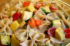 So Many Memories: Bow Tie Pasta Salad