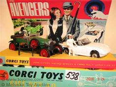 The Avengers toys Vintage Toys 1970s, 1960s Toys, Vintage Videos, Vintage Video Games, Monster Toys, Corgi Toys, Space Toys, Toy Collector, Toy Soldiers