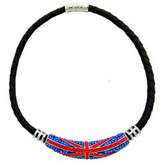 #Crystal #UnionJack #Necklace Was £48.00 Now £24.00 You Save: 50%