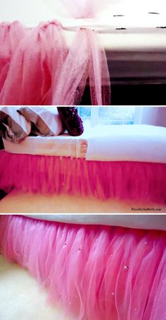 No see tutu bed skirt, so cute!