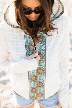 Pretty Ditty: Sol Hoodie pdf sewing pattern
