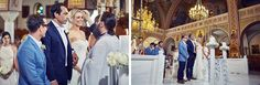 Santorini Wedding - church ceremony Wedding Church, Church Ceremony, Santorini Wedding, Elegant Wedding, Coat, Jackets, Dresses, Fashion, Down Jackets