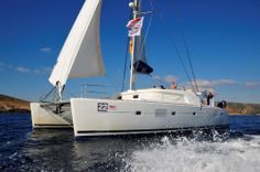 Idea, a Lagoon 500 for crewed charters in Greek islands by Istion Yachting. For more information, please click the link below: www.istion.com/...