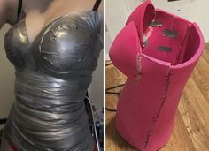 A Real Wonder Woman Spent 50 Hours Making This Costume From A Cheap Yoga Mat And Duct Tape, And The Result Will Amaze You | Bored Panda