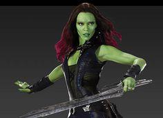 Gamora Guardians Of The Galaxy Halloween Costume