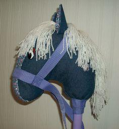 Meet Blossom / Stick Horse / Child's Stick Horse by JazziGenShoppe on Etsy