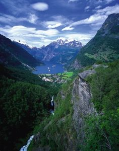 Geiranger, Norway.  LOVED staying here!